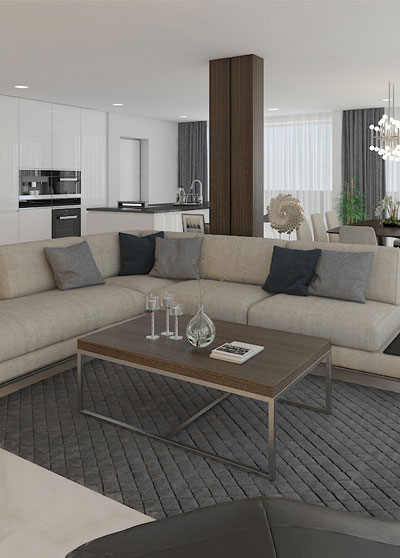 unistyle living room